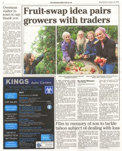 Stroud News Article - The Fruit Exchange